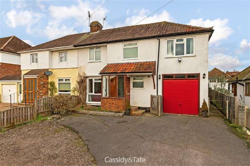 3 Bedrooms Semi Detached House for sale in Lower Luton Road, Wheathampstead, Hertfordshire