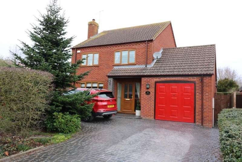 4 Bedrooms Detached House for sale in Kinnersley, Severn Stoke, Worcester WR8
