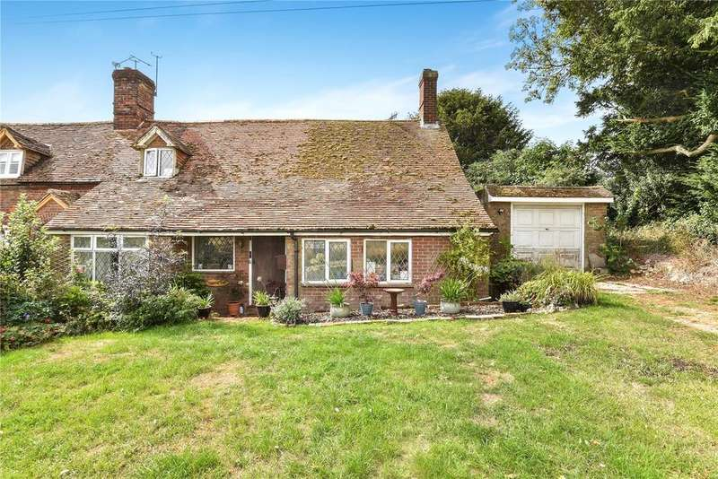 3 Bedrooms Semi Detached House for sale in Oxlease End, 2 Grange Farm Cottages, Herriard, Hampshire, RG25