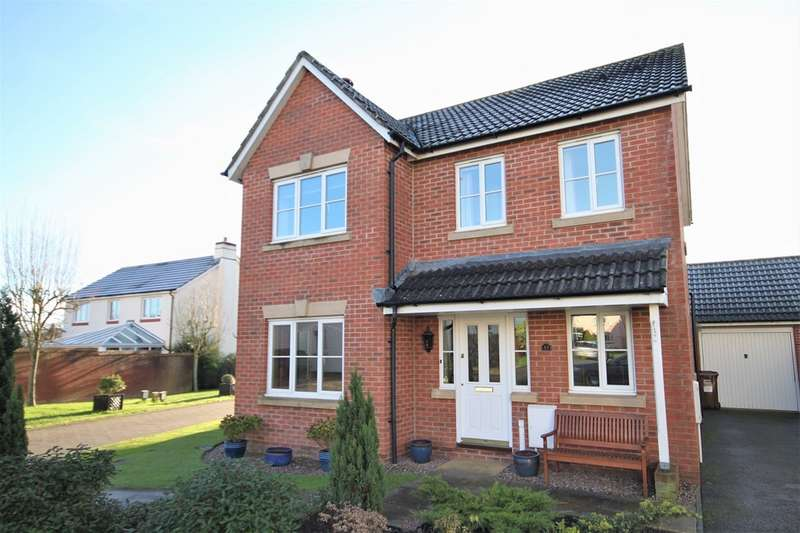 4 Bedrooms Property for sale in Elderberry Way, Willand, Cullompton