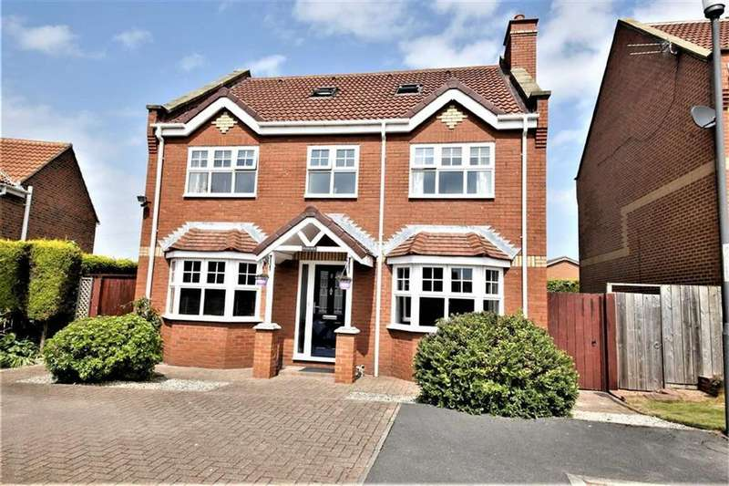 5 Bedrooms Detached House for sale in Hilltop Gardens, Tunstall, Sunderland, SR3