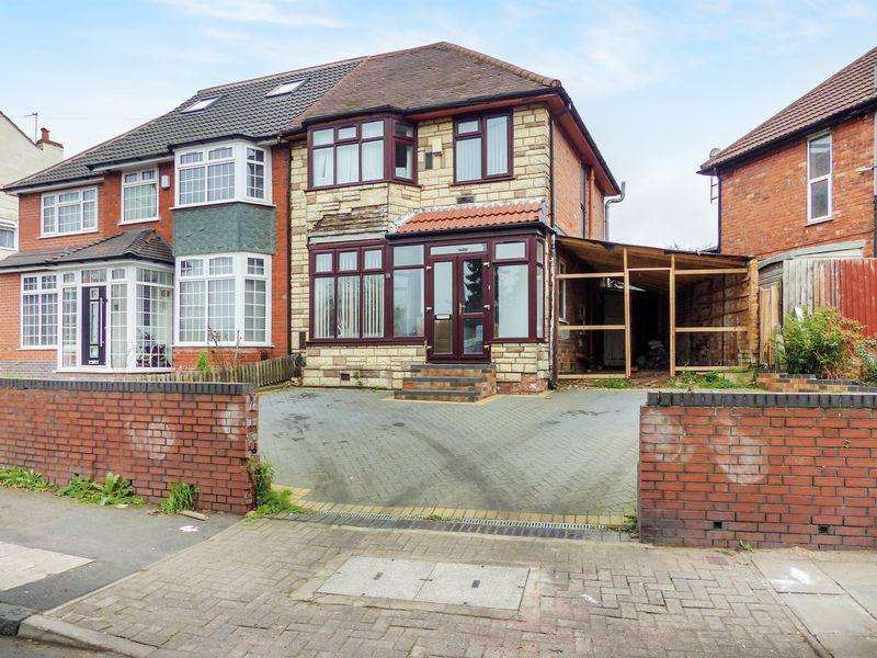 3 Bedrooms Semi Detached House for sale in Brookvale Road, Witton, Birmingham, West Midlands