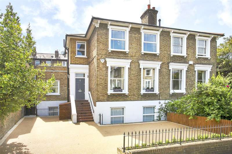 5 Bedrooms Semi Detached House for sale in Sydney Road, Richmond, TW9