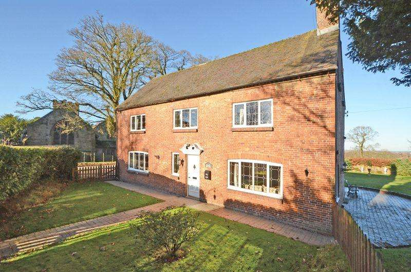 3 Bedrooms Detached House for sale in The Dairy House Queen Marys Drive, Barlaston, Stoke-On-Trent