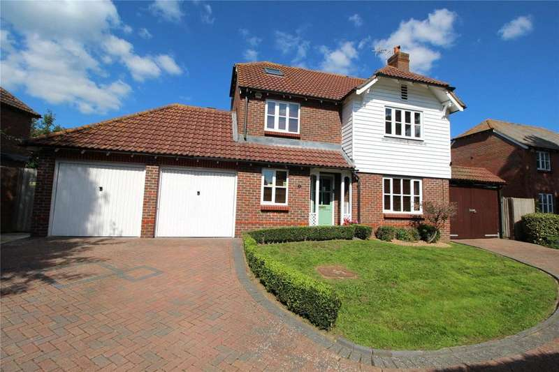 5 Bedrooms Detached House for sale in Salvington Hill, High Salvington, Worthing, West Sussex, BN13
