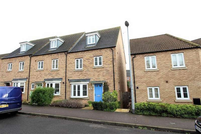 4 Bedrooms Town House for sale in Kingfisher Drive, Leighton Buzzard