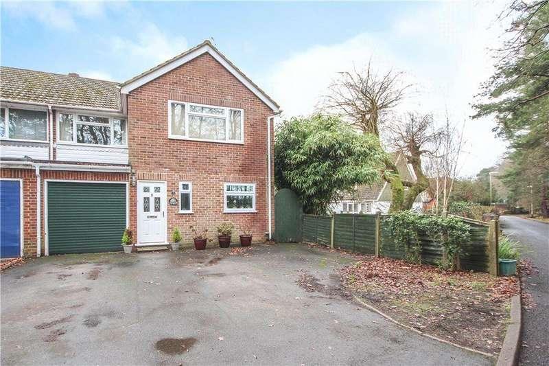 4 Bedrooms Semi Detached House for sale in Fugelmere Road, Fleet, Hampshire, GU51
