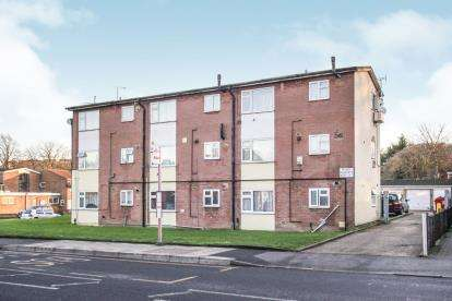 1 Bedroom Flat for sale in Harefield Court, Luton, Bedforshire