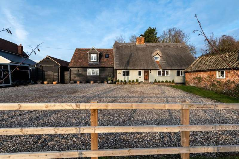 5 Bedrooms Cottage House for sale in Great Sampford, Saffron Walden