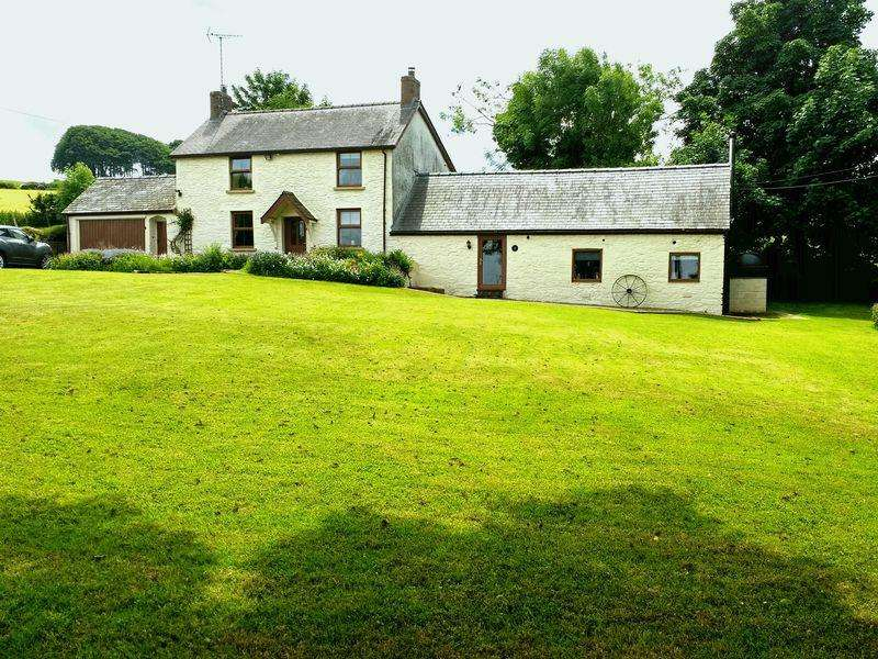 4 Bedrooms Detached House for sale in Bwlchygroes, Boncath