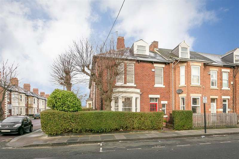 3 Bedrooms End Of Terrace House for sale in Manor House Road, Jesmond, Newcastle upon Tyne