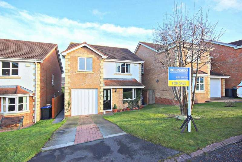 4 Bedrooms Detached House for sale in Aberwick Drive, Chester Le Street