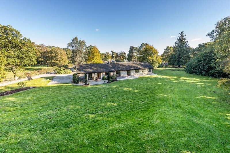 5 Bedrooms Detached Bungalow for sale in Leigh, Holmbushes, Dorset