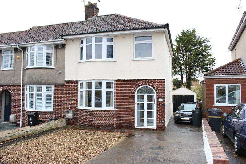 3 Bedrooms End Of Terrace House for sale in Gordon Avenue, Whitehall, Bristol