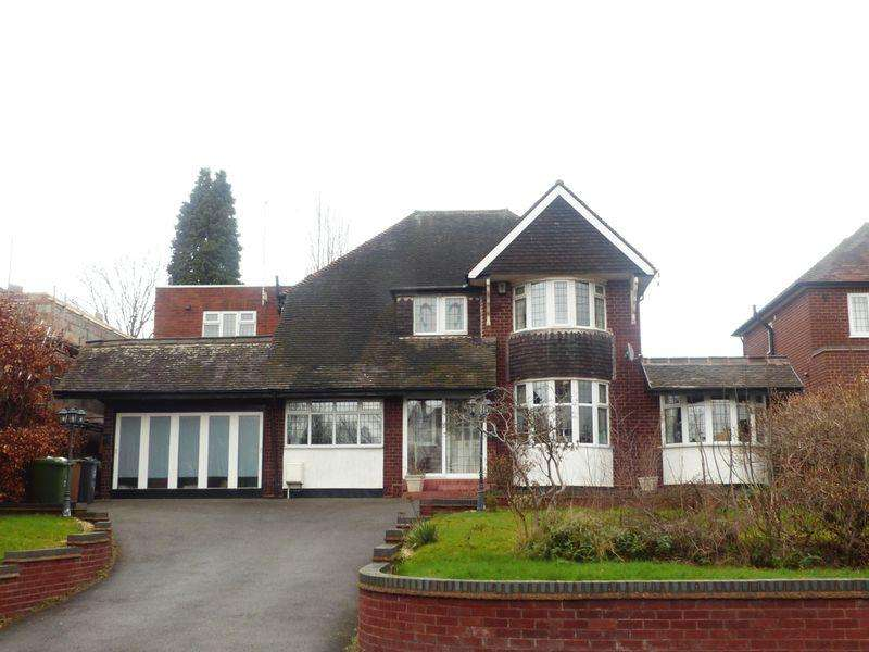 4 Bedrooms Detached House for sale in Buchanan Road, Walsall