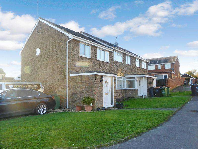 3 Bedrooms End Of Terrace House for sale in Englands Avenue, Dunstable