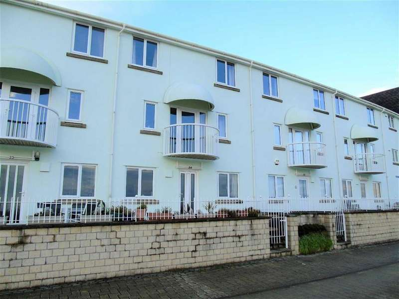 4 Bedrooms Town House for sale in Marine Walk, Maritime Quarter, Swansea