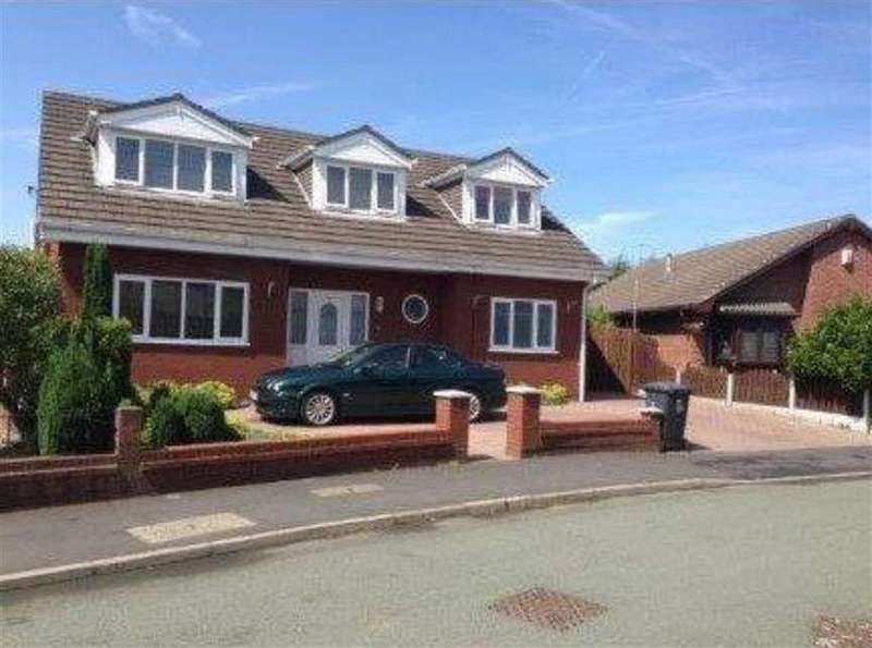 4 Bedrooms Detached House for sale in Merlewood Drive, Astley, Manchester
