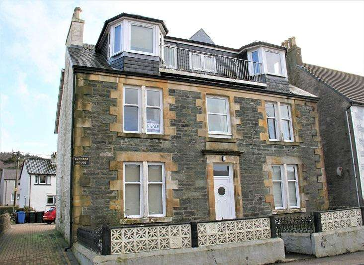 3 Bedrooms Flat for sale in Glencoe House, Tarbert PA29