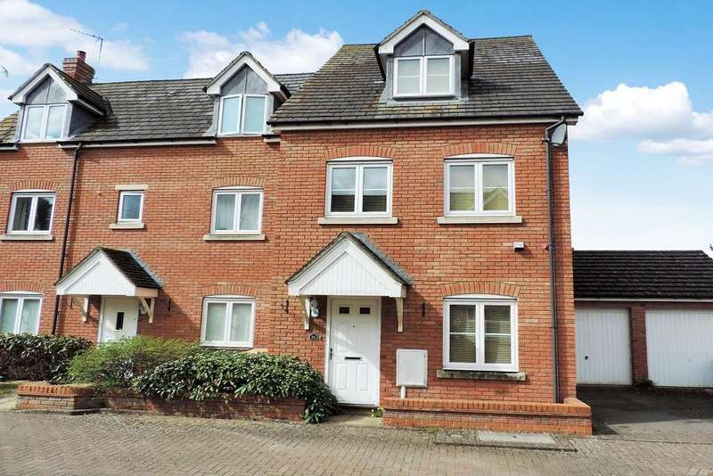 4 Bedrooms Town House for sale in Harewelle Way, Harrold