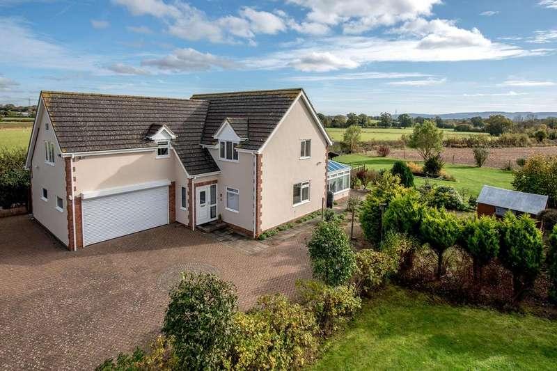 3 Bedrooms Detached House for sale in Nailsbourne, Taunton