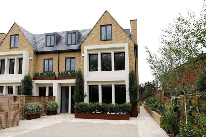 6 Bedrooms Terraced House for sale in Montem Terrace, Montem Square, Wimbledon, London, SW20