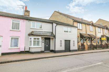 2 Bedrooms Terraced House for sale in Hitchin Street, Biggleswade, Bedfordshire, .
