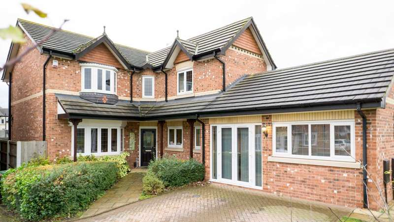 4 Bedrooms Detached House for sale in Bedale Close, Newton Le Willows