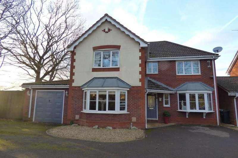 5 Bedrooms Detached House for sale in St Saviours Rise, Frampton Cotterell, BRISTOL, Gloucestershire