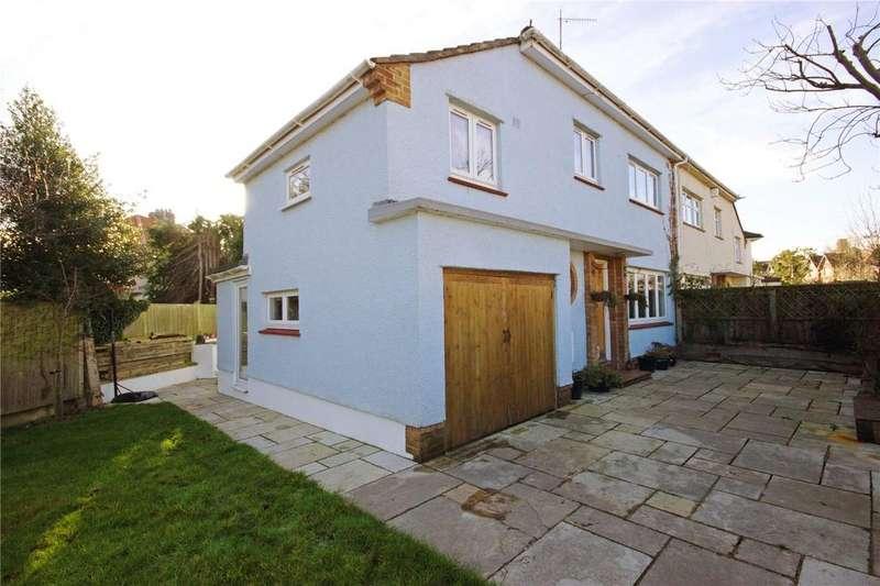 3 Bedrooms Semi Detached House for sale in Reedley Road, Stoke Bishop, Bristol, BS9