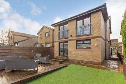 4 Bedrooms Detached House for sale in Burntbroom Drive, Baillieston