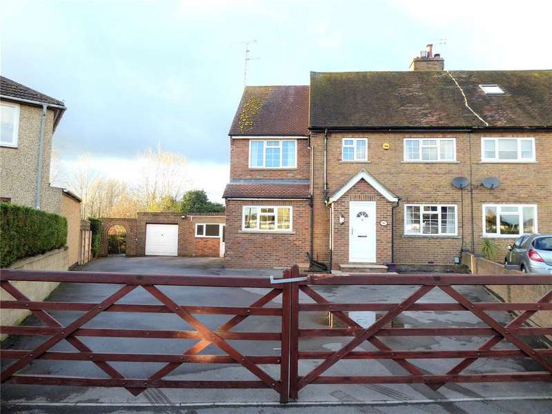 4 Bedrooms Semi Detached House for sale in Tiverton Road, Gorse Hill, Swindon, SN2