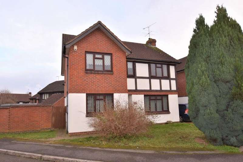4 Bedrooms Detached House for sale in MEDWAY CLOSE, wokingham RG41