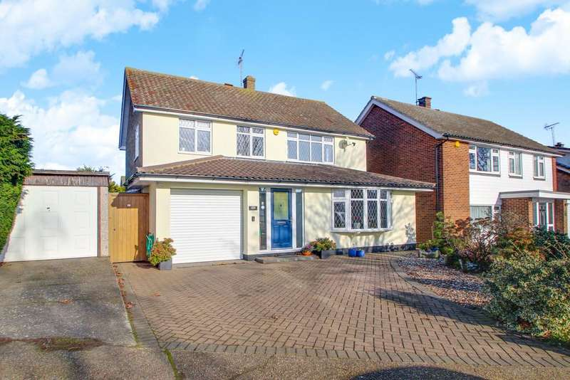 4 Bedrooms Detached House for sale in Scrub Lane, Hadleigh