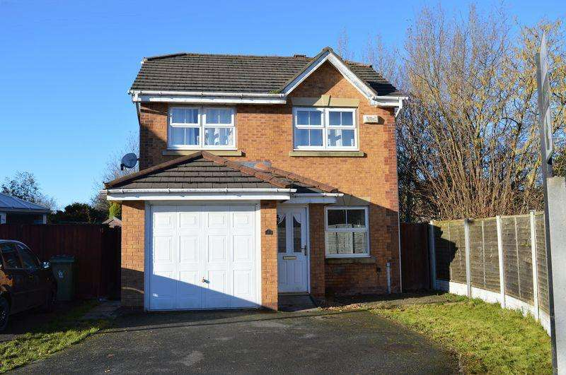3 Bedrooms Detached House for sale in Branson Close, Golborne, WA3 3GD