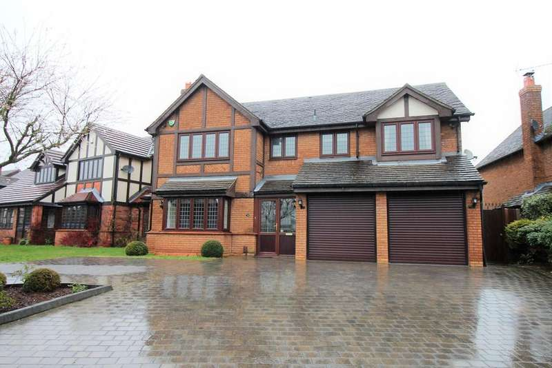 4 Bedrooms Detached House for sale in Gunnersbury Way, Nuthall, Nottingham, NG16
