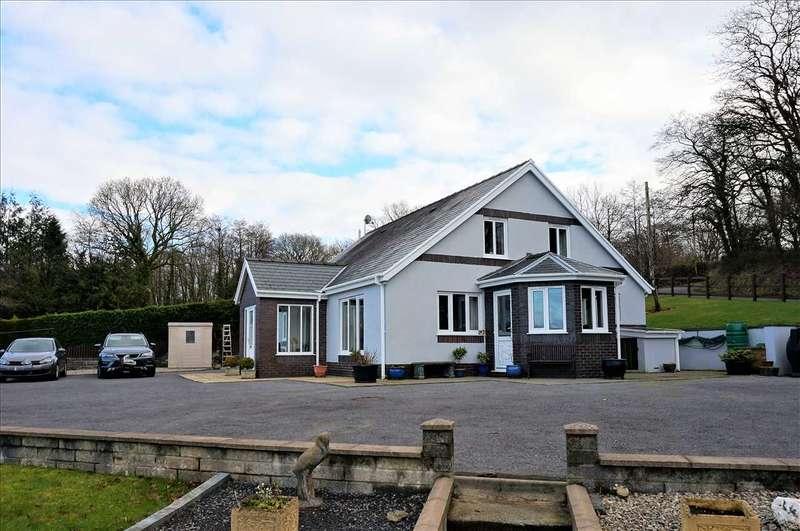 4 Bedrooms Detached Bungalow for sale in Twin Oaks, Derwen Road, Tumble, Llanelli