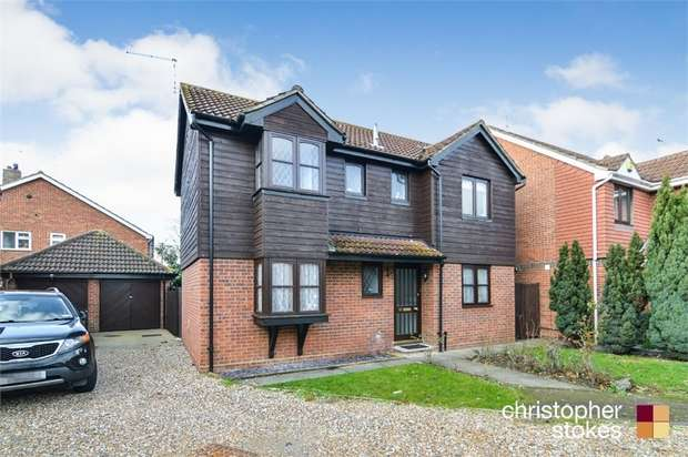 3 Bedrooms Detached House for sale in Girton Court, Cheshunt, Cheshunt, Hertfordshire