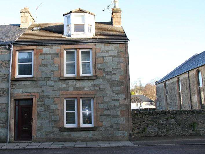 4 Bedrooms End Of Terrace House for sale in Lochnell Street, Lochgilphead PA31