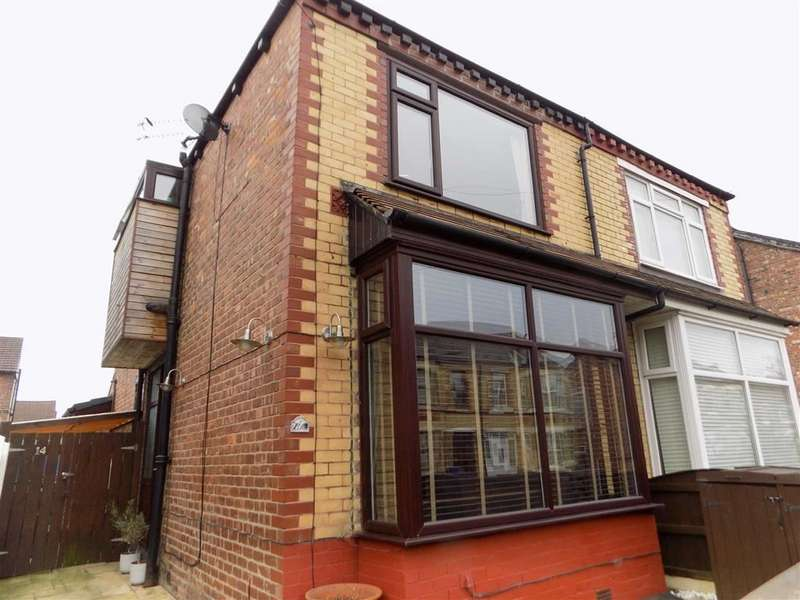 3 Bedrooms Semi Detached House for sale in Woodville Grove, Stockport