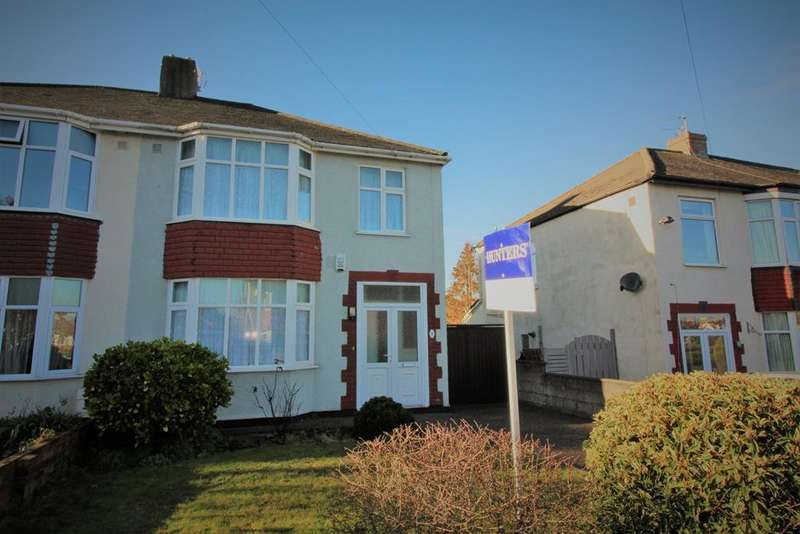 3 Bedrooms Semi Detached House for sale in Redhill Drive, Bristol, BS16 2AG