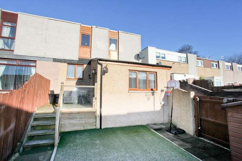 4 Bedrooms End Of Terrace House for sale in Dunbeath Drive, Glenrothes
