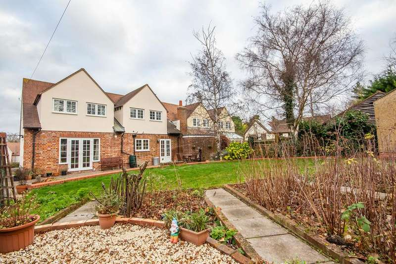 4 Bedrooms Semi Detached House for sale in Back Lane, Melbourn, Nr Royston