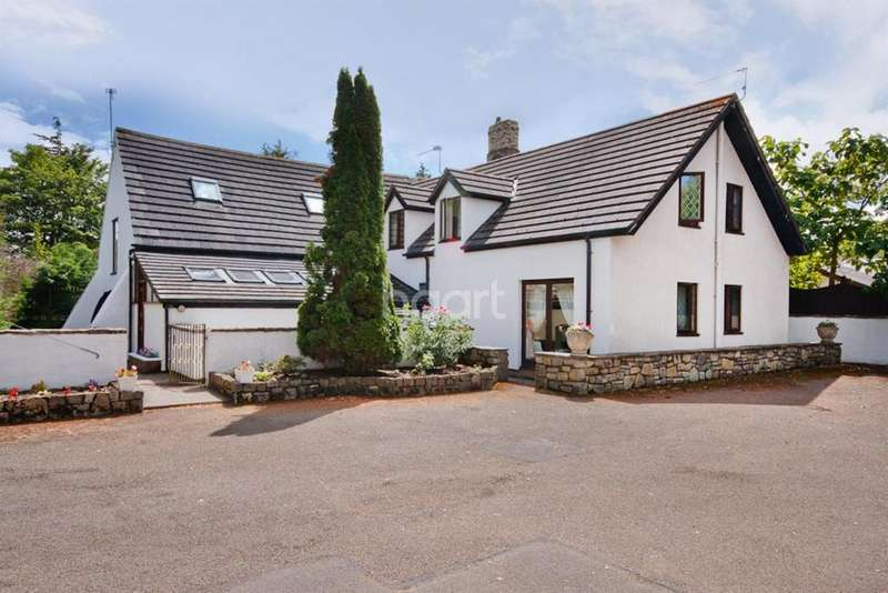 6 Bedrooms Detached House for sale in Broad Street Common, GOLDCLIFF, NEWPORT