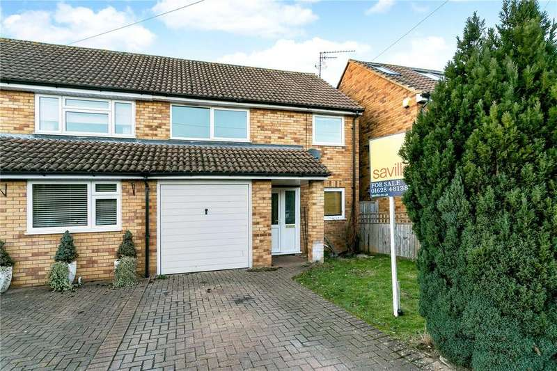 4 Bedrooms Semi Detached House for sale in Taylors Close, Marlow, Buckinghamshire, SL7