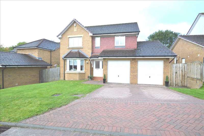 4 Bedrooms Detached House for sale in Wellmeadows Court, Hamilton larger style 4 bed detached with SUNROOM-excellent plot in quiet cul-de-sac