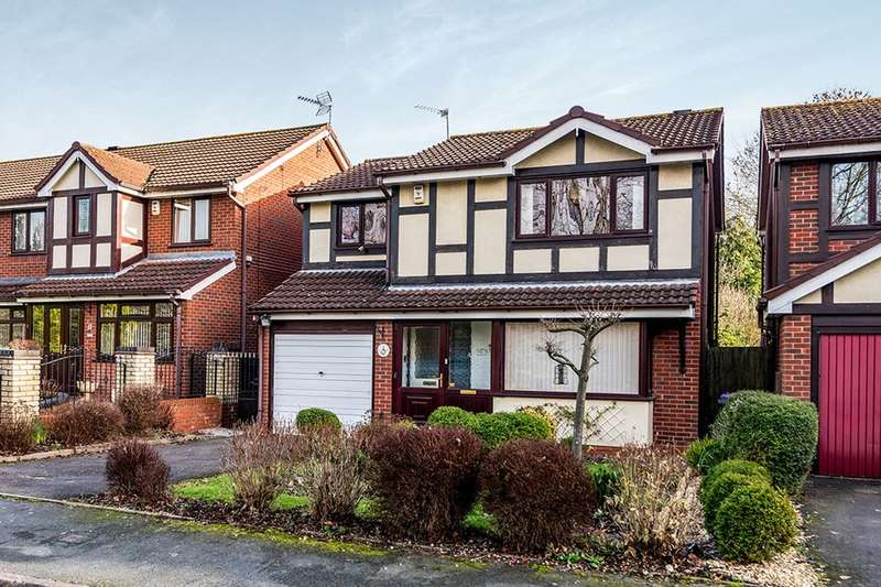4 Bedrooms Detached House for sale in Swansmede Way, Stirchley, Telford, TF3