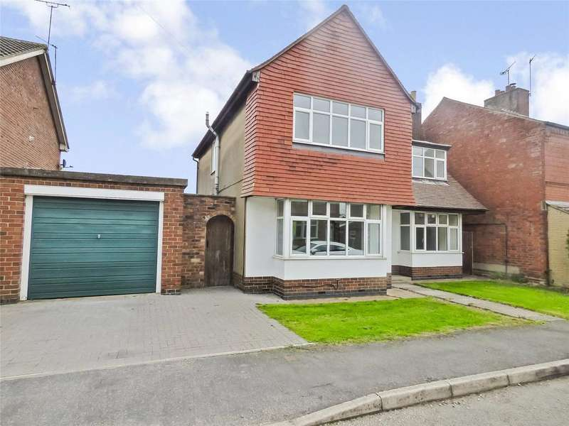 4 Bedrooms Detached House for sale in Gladstone Street, Lutterworth, Leicestershire, LE17