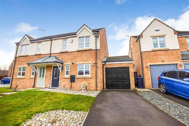 3 Bedrooms Semi Detached House for sale in Hunstanton, East Shore Village, Seaham, Co Durham, SR7