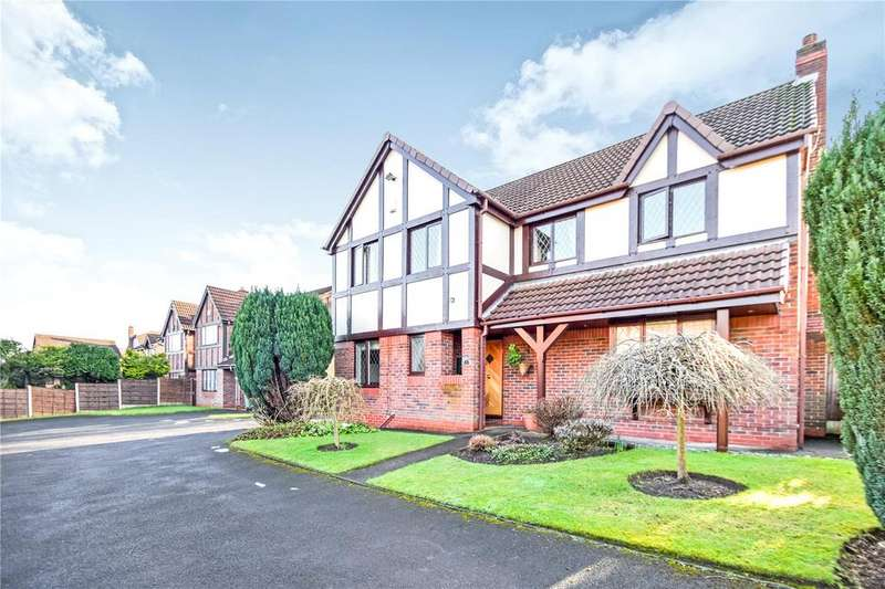 4 Bedrooms Detached House for sale in Leyburn Close, Whitefield, Manchester, Greater Manchester, M45